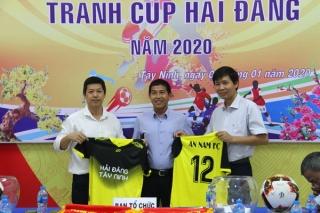 Bốc thăm công bố Giải bóng đá các CLB Tây Ninh tranh Cúp Hải Đăng