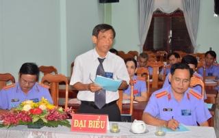 Đảng bộ Viện kiểm sát nhân dân tỉnh tổ chức Đại hội chi bộ điểm Chi trực thuộc