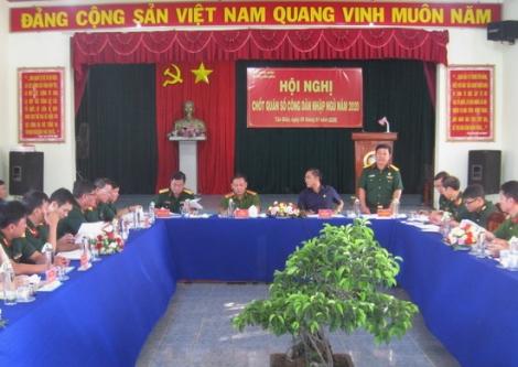 Tân Biên: Chốt quân số công dân nhập ngũ năm 2020