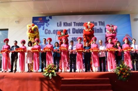 Khai trương siêu thị Co.opmart Dương Minh Châu