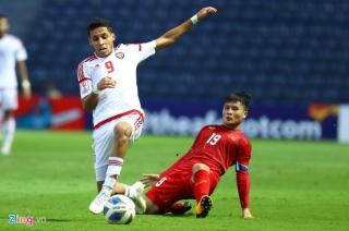 Nhà báo UAE hài lòng khi đội nhà có điểm trước U23 Việt Nam