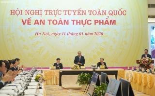 Hội nghị trực tuyến toàn quốc về an toàn thực phẩm