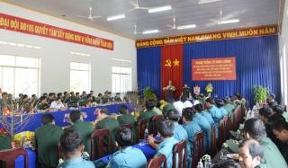 Tư lệnh Quân khu 7 thăm, tặng quà tại Tây Ninh