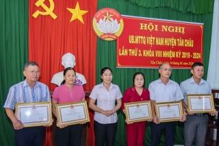 Tân Châu hội nghị MTTQ huyện lần thứ 3 nhiệm kỳ 2019-2024