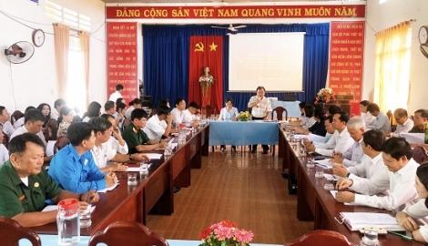 Xã Thạnh Tân đạt 19/19 tiêu chí xã nông thôn mới