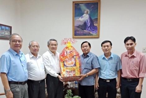 Ban Dân vận Tỉnh ủy chúc Tết các cơ sở tôn giáo tại TP.HCM