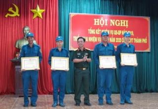Hoàn thành tốt nhiệm vụ quân sự-quốc phòng  năm 2019