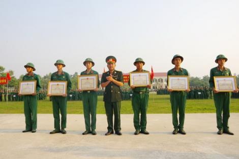 Lễ tiễn quân nhân hoàn thành nghĩa vụ quân sự tại ngũ  năm 2020