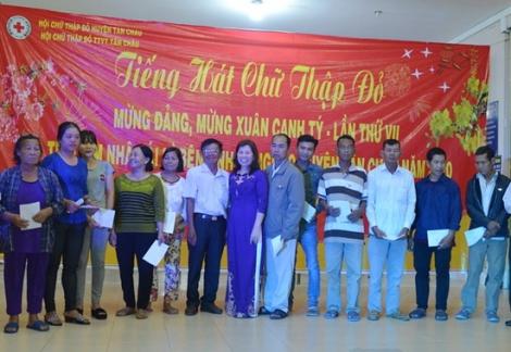 Tân Châu tổ chức chương trình Tiếng hát chữ thập đỏ mừng Đảng, mừng Xuân Canh Tý gây quỹ vì bệnh nhân nghèo