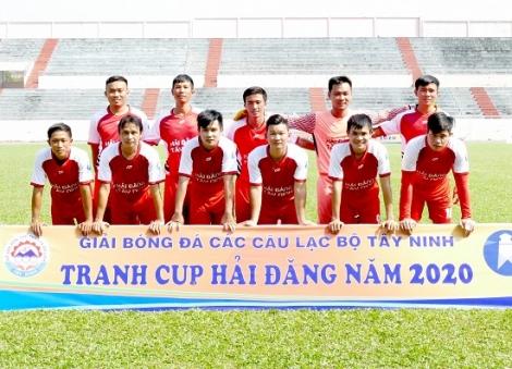 Kết thúc vòng loại Giải bóng đá các CLB tỉnh Tây Ninh – Cúp Hải Đăng năm 2020