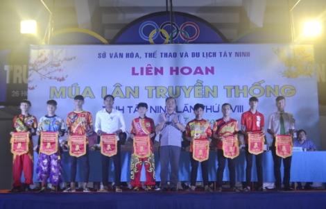 Tây Ninh: Khai mạc Liên hoan Múa lân truyền thống