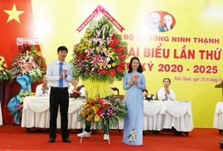 Phường Ninh Thạnh tổ chức Đại hội đại biểu lần thứ XIII, nhiệm kỳ 2020-2025