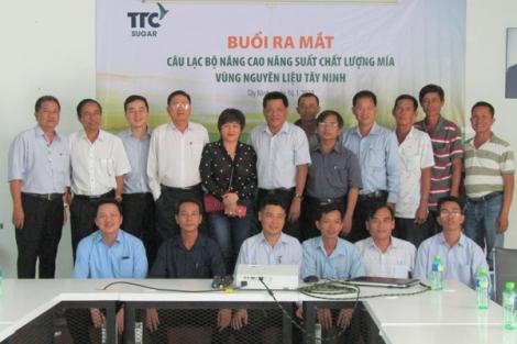 Ra mắt CLB nâng cao năng suất chất lượng mía vùng nguyên liệu Tây Ninh