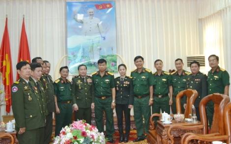 Thăm chúc tết Bộ CHQS tỉnh Tây Ninh