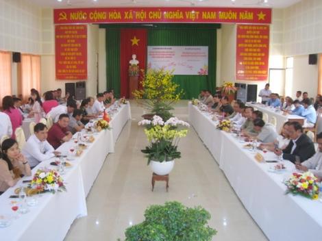 Tân Biên: Họp mặt mừng xuân Canh tý 2020 với các huyện Campuchia giáp biên giới