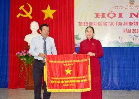 Ngành Tòa án Tây Ninh triển khai công tác năm 2020