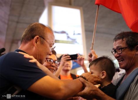U23 Việt Nam trở về