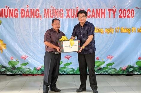 Trảng Bàng họp mặt mừng Đảng, mừng Xuân Canh Tý với các huyện Campuchia giáp biên