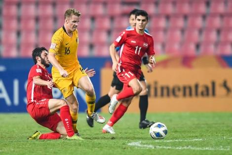 Australia vào bán kết giải U23 châu Á