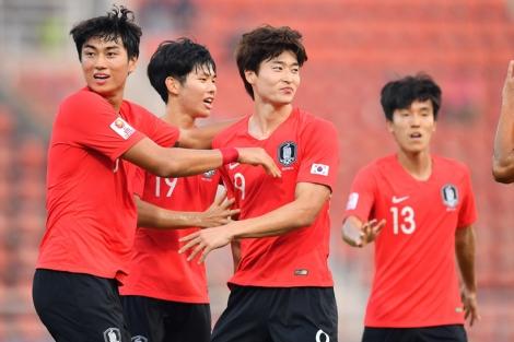 Thắng nghẹt thở, U23 Hàn Quốc hẹn U23 Australia ở bán kết