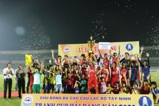 Hải An FC vô địch Giải bóng đá các CLB tỉnh Tây Ninh- Cúp Hải Đăng năm 2020