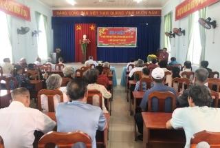 Các phường, xã của thành phố Tây Ninh họp mặt mừng Đảng, mừng xuân Canh Tý 2020