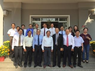Tổng Liên hội Hội thánh Tin Lành Việt Nam (miền Nam) thăm và chúc Tết Ban Dân vận Tỉnh ủy Tây Ninh