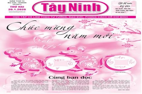 Điểm báo in Tây Ninh ngày 20.01.2020