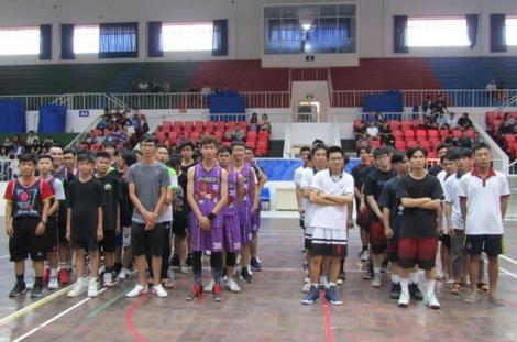 """Khai mạc giải bóng rổ không chuyên """"Tay Ninh Basketball League"""""""