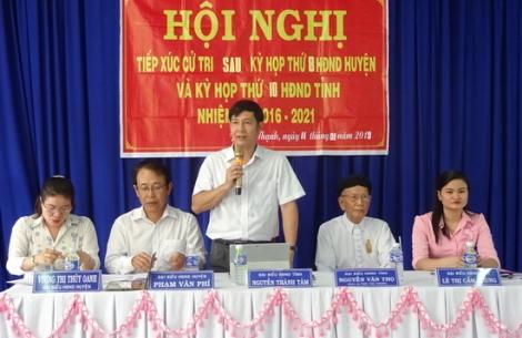 Hội đồng nhân dân huyện Gò Dầu đã tiếp nhận và xử lý 196 ý kiến bức xúc của người dân trong năm 2019