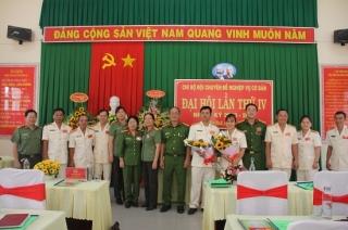 Công an tỉnh tổ chức thành công hai Đại hội điểm Chi bộ