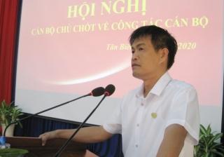 Tân Biên: Hội nghị cán bộ chủ chốt về công tác cán bộ