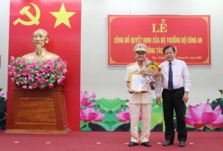 Bổ nhiệm Phó Giám đốc Công an tỉnh Tây Ninh
