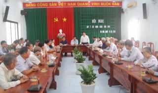 Gò Dầu tổ chức hội nghị góp ý xây dựng Đảng