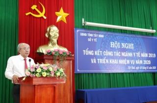 Sở Y tế Tây Ninh tổng kết hoạt động năm 2019