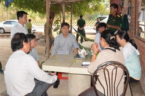 Phó Chủ tịch UBND tỉnh kiểm tra công tác phòng cháy, chữa cháy rừng tại khu rừng phòng hộ Dầu Tiếng