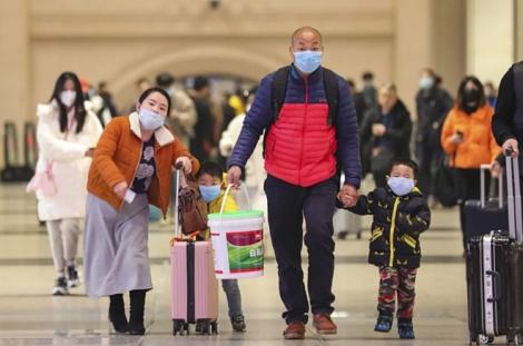 Vũ Hán cấm máy bay, tàu hỏa rời thành phố