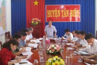 Tân Biên:Triển khai kế hoạch hoạt động đáp ứng với bệnh viêm phổi cấp do virus Corona