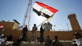 3 rocket bắn trúng Đại sứ quán Mỹ ở Iraq