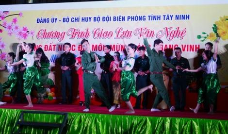 Ấm tình hữu nghị Việt Nam–Campuchia