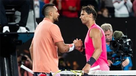 Australia mở rộng 2020: Đánh bại Kyrgios, Nadal giành quyền vào tứ kết