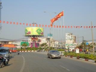 Nam Tây Ninh chiều 29 tết