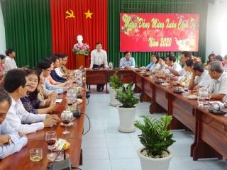 Gò Dầu: Họp mặt cán bộ công chức sau Tết Nguyên đán