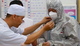 Bệnh nhân nCoV tại Chợ Rẫy được súc họng ngừa virus