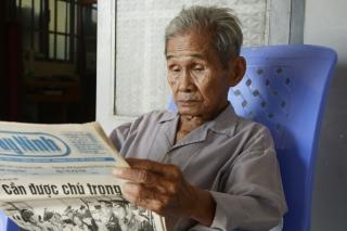 Đảng viên Nguyễn Tấn- Sắt son niềm tin theo Đảng