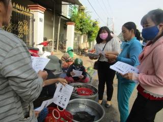 Tuyên truyền các biện pháp phòng chống dịch bệnh nCoV cho người dân