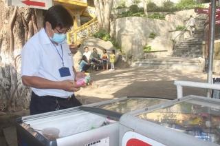 Ra quân kiểm tra ATTP tại Khu du lịch quốc gia Núi Bà đen