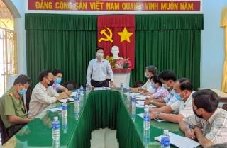Chủ tịch UBND huyện Trảng Bàng kiểm tra công tác phòng chống dịch bệnh do virus Corona