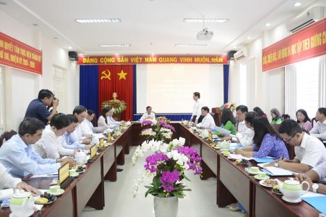 UBKT Trung ương làm việc với UBKT Tỉnh ủy Tây Ninh