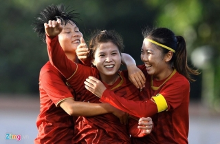 Thắng Myanmar 1-0, tuyển nữ Việt Nam tiến gần tấm vé dự Olympic